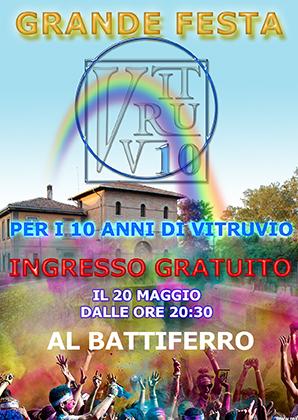 grande festa al battiferro per i 10 anni di Vitruvio a Bologna - dopo la color run